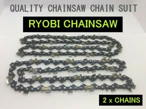 Chainsaw Chain Suit Ryobi Pole Pruner RPP750S 200mm Bar (2 x Chains)