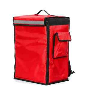 42L Thermal Insulated Bag Portable Food Delivery Bag Picnic Storage Scooter Bag
