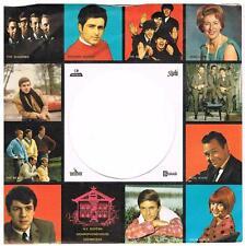 Dutch EMI record sleeve - Original 60's - Beatles, Beach boys, Hollies, Manfred