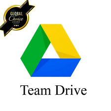 Unlimited Google Drive For Your Exiting Account-Lifetime Access (Team Drive)