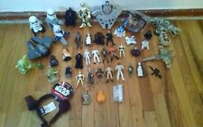 25 pc STAR WARS LOT FIGURINE TOYS BB8 FIGURES VINTAGE TRANSFORMER WIND UP MIXED