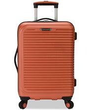 """$260 Travel Select Savanah 20"""" Hard Dual Spinner Carryon Luggage Suitcase Orange"""