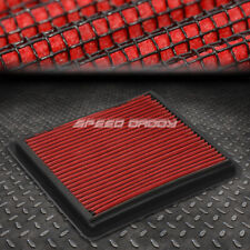 FOR 05-10 MUSTANG GT SHELBY RED REUSABLE&WASHABLE HIGH FLOW PANEL AIR FILTER