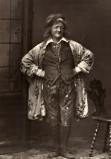 France Theater Stage Actor Louis Hesnard aka Montrouge Woodburytype Photo 1875