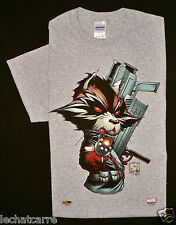 T-Shirt Rocket Raccoon - Joe Quesada - Eds. Marvel/Panini Comics - 2015 - HC