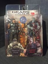 NECA Player Select Gears of War 3 Marcus Fenix & Locust Grunt TRU 2 Pack Figures