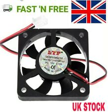 DC 12V 2 Pin Brushless Axial Industrial PC Cooling Fan 50mm 50x50x10mm 5010 5cm