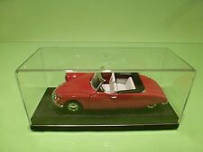 RIO CITROEN DS 19 CABRIOLET - RED 1:43 - RARE - VERY GOOD IN SHOWCASE