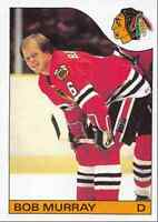 1985-86 Topps Bob Murray Chicago Blackhawks #114