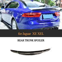 Carbon Spoiler Heckspoiler Abrisskante Lippe für Jaguar XE XEL 15-18 Heckansatz