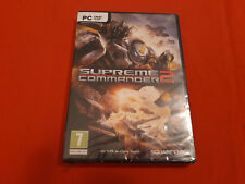 SUPREME COMMANDER 2 PC DVD-ROM PAL COMPLET NEUF SOUS BLISTER