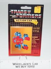 Gears Sealed Pack Card #25 of Transformers Trading Action Cards 1985 G1