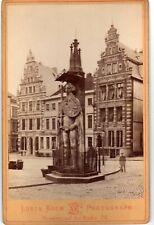 Fine view Bremen ALBUMEN 1880 Photographer L Koch Bremen fotografie