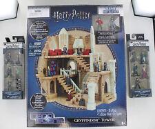 Nano Metalfigs Harry Potter Lot Gryffindor Tower Nano Scene and 10 figures