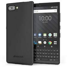 AMZER Hybrid TPU Bumper Soft Back Phone Cover Skin Case for Blackberry KEY2