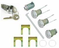 Ignition Door Glovebox Trunk Lock Set 1955 Bel Air Hartop/Sedan 1956-1957 Sedan