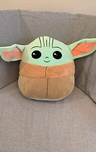 Super Yoda Pillow Plush Toy, Baby Yoda Pillow Toys, Plush Stuffed Toy 10 in NEW
