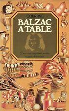 Balzac à table 250 recettes par Robert Courtine
