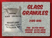 Glass Granules Sandblasting Media 25kg (Coarse/Medium/Fine) - Radum