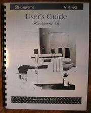 Husqvarna Viking Huskylock 936 Serger Owners Users Guide Instruction Manual