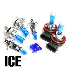 Ford Fiesta MK7 1.25 55w ICE Blue Xenon HID Main/Dip/Fog/Side Light Bulbs Set