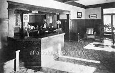 Photo. 1911. California. Interior Anaheim Sanitarium - Reception Area