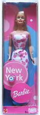 BARBIE NEW YORK (pre HOT SPOT) MATTEL # 1099 53515 VTG 2001 EUROPEAN NEW MISB