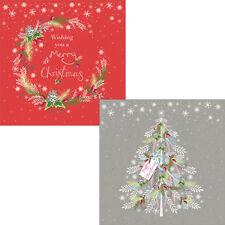 Help For Heroes Christmas Card Pack (Luxury) - Festive Wreath (5 of Each Design)