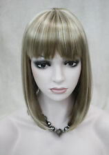 Excellent BOB Light Brown & blonde Mixed Short Women Ladies Daily wig FTLD090