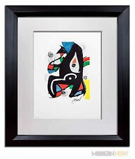 Joan MIRO Original SIGNED Lithograph HAND Number on Arches +Cat. Ref. c48 +FRAME
