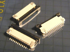 25x point-CONNECTOR 11 Broches, Grille 1 Mm, SMD