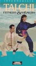 Tai Chi For Fitness  Health: Intermediate VHS, 1993
