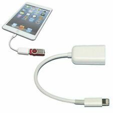 Câble adaptateur USB femelle à 8 broches Lightning Male OTG pour iPad Air iPhone