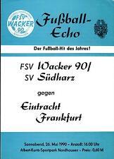 26.05.1990 FSV Wacker 90 / SV Südharz - Eintracht Frankfurt