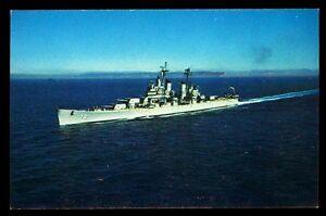 USS St. Paul CA-73 postcard US Navy Baltimore-class heavy cruiser ship