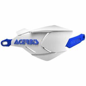 Acerbis X-Factory Handguards White/Blue Honda Kawasaki KTM Yamaha Suzuki