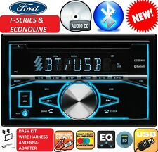 FORD MERCURY BLUETOOTH CD USB AUX BLUETOOTH Radio Stereo Double Din Dash Kit