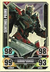 TRANSFORMERS Movie Limited Edition Card LE8 SENTINEL PRIME - TOPPS 2005
