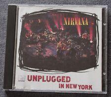 Nirvana, unplugged in New York, CD