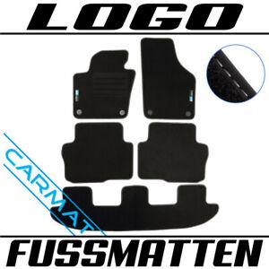 Fussmatten für VW Sharan 7N Bj. 2010- Fußmatten Autoteppiche LOGO