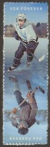 Scott #5252-53 Used Block/Strip of 2, History of Ice Hockey