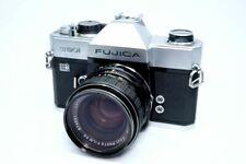 [EXC] Fujica ST801 LED Silver 35mm Film SLR /EBC Fujinon 55mm f/1.8 JAPAN 210804