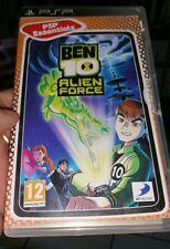 Ben 10 - Alien Force (NO BOOKLET) PSP - FREE POST