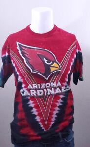 Arizona Cardinals Front Seattle Seahawks Back Tye-Dye Majestic T-Shirt Sz L
