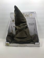 "Wizarding World of Harry Potter Real Talking Animated Sorting Hat 15"" New"