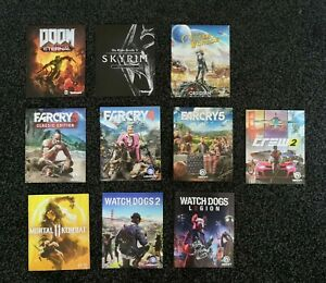 [Manuals] 10 PS4 Manuals [DOOM Eternal, Skyrim, Far Cry 3,4,5, Crew 2, etc...]