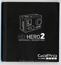 GoPro Hero 2 HD Instruction Book. English & French. More User Manuals Listed.