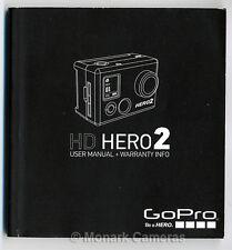 GoPro HERO 2 HD libro delle istruzioni. ITALIANO & FRANCESE. ulteriori MANUALI D'USO elencati.