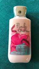 BATH AND BODY WORKS PINK CHIFFON LOTION 8 OZ. BUY MORE, SAVE MORE! NEW!!