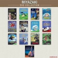 MIYAZAKI COLLEZIONE - DVD - 13 titoli Italiani Sigillati